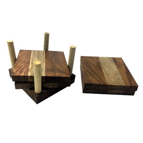 Wooden Tea Coaster