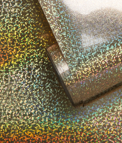 CStar Holographic Gold Hot Fix Stretchable Foil Heat Transfer Material