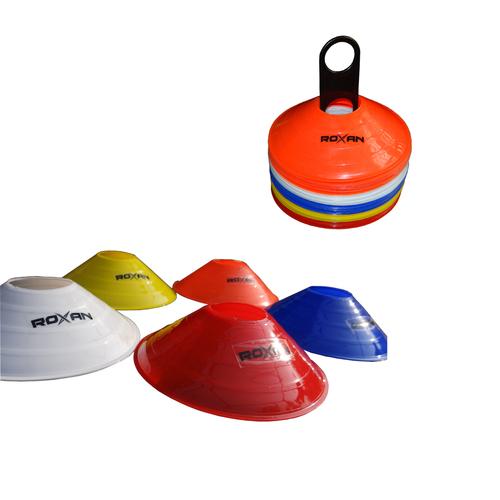 Roxan Multicolor Agility Saucer Marker Cone