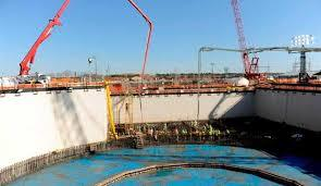 Chemical Reactor Foundation Plant