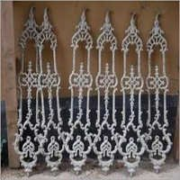 Easily Assembled Cast Iron Grill