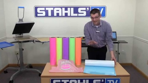 Stahls Cad-Color Heat Transfer Vinyl For T-Shirt Printing