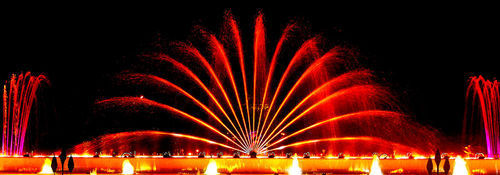 Musical Light Fountain