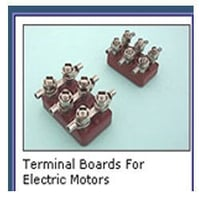 Terminal Boards For Electric Motors