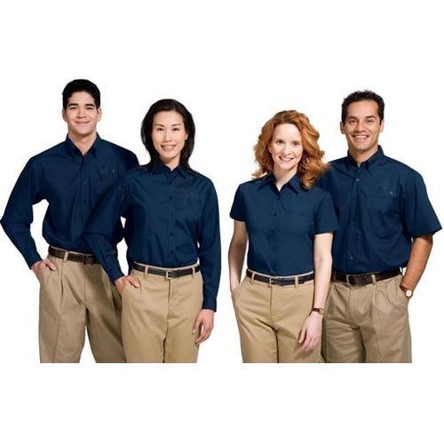 Company Uniform With Smooth Finish