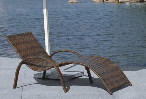 Stylish And Comfortable Poolside Lounger