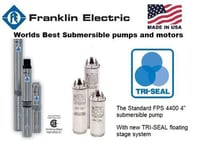 Franklin Submersible Borewell Pump
