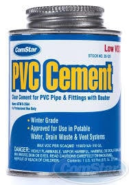 Banner PVC Pipe Cement