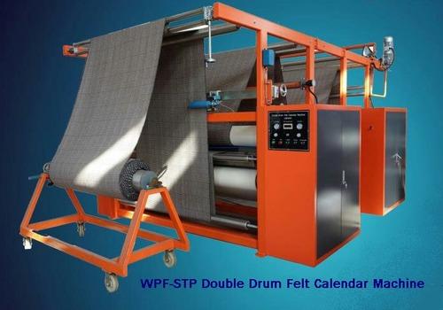 Double Drum Felt Calender Machine