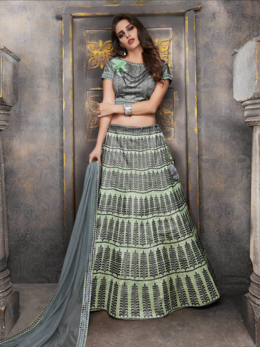 b1d6926c9e Green Lehenga In Surat, Green Lehenga Dealers & Traders In Surat ...