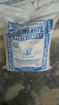 Ultra White Cement For Construction