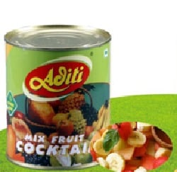 Canned Mixed Fruit Cocktail