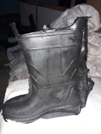Industrial Safety Leather Boots