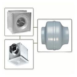 Rust Resistance Centrifugal Duct Fans