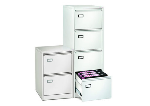 Godrej 4 Drawer Vertical Filing Cabinet