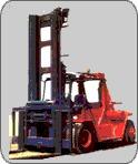 25 Ton Capacity Fork Lift