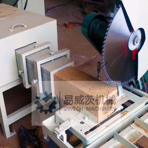 Compressed Shavings Wood Pallet Feet Block Making Machine