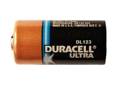 Pencil Duracell Lithium Battery