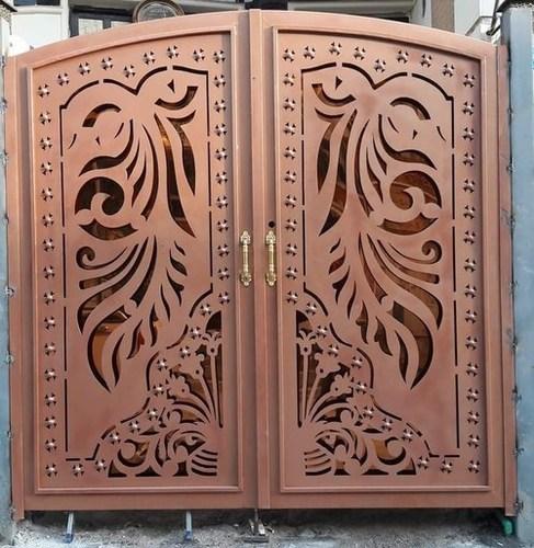 Metal Cutting Front Gate