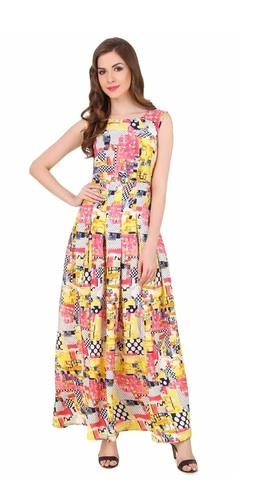 Branded Ladies Casual Party Wear Dress