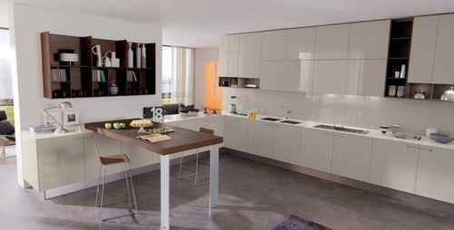Raw Interiors Marbella : Marbella contemporary modular kitchen in gurgaon haryana alsorg