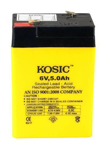 6V 5 Ah Weight Scale Battery