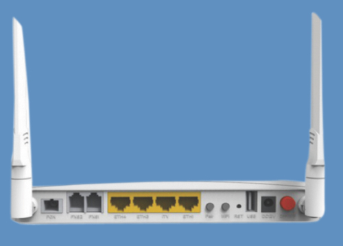GPON 4GE+2FXS+11ac WiFi