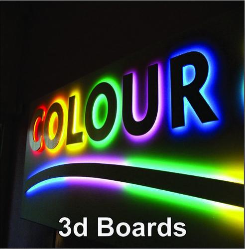 3d Signage Board
