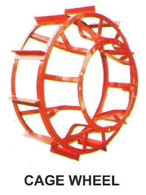 Highly Demanded Cage Wheel