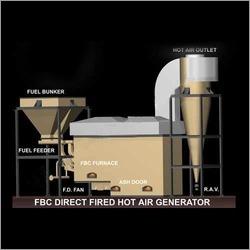 Qualitative Grade Hot Air Generator