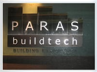 Durable Steel Reception Signage