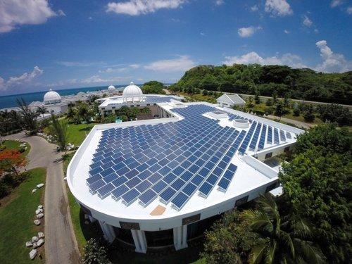 Hotel Solar Power Plant in  Thadagam Road