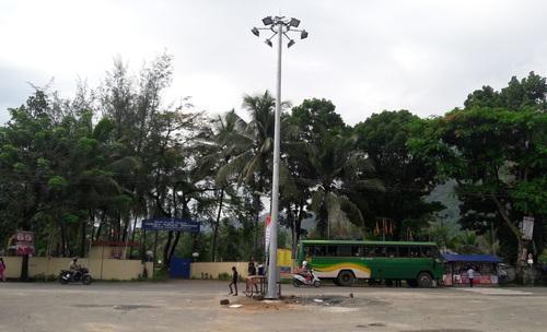 16 Meter Mini High Mast Pole