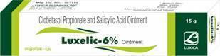 Clobetasol Propionate Salicylic Acid 6% Ointment