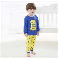 Cute Bunny Print Blue T-Shirt And Pants Set in  Prabhadevi