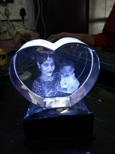 Personal Picture 3d Crystal Momentos