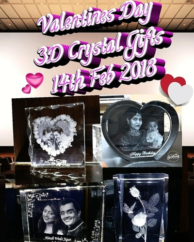 Personalized 3d Crystal Photo Frame