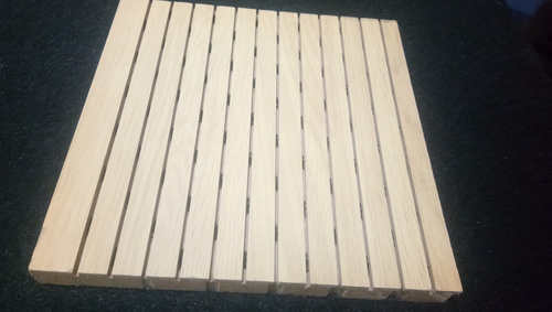 Wooden Grooved Panels