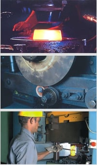 Durable Conventional Hot Forging