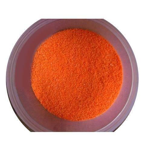 Fluorescent Orange Rangoli Color