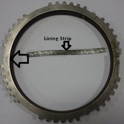 Round Carbon Friction Lining