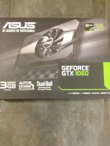 Asus GeForce GTX 1060 Phoenix Fan Edition 3GB GDDR5 Graphic Card