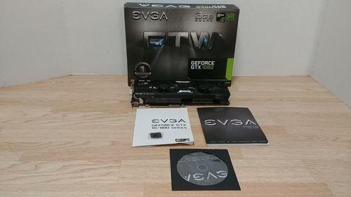 EVGA GeForce GTX 1060 FTW+ Gaming ACX 3.0 3GB GDDR5 Graphic Card
