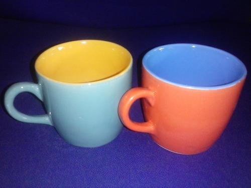 Plain Coloured Stoneware Cup