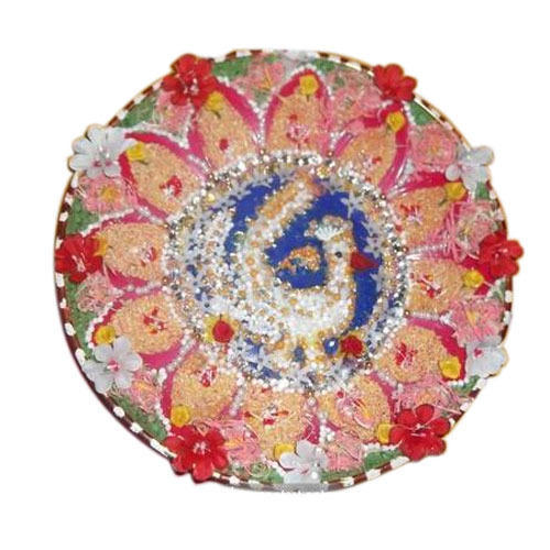 Indian Attractive Aarti Plate Decoration