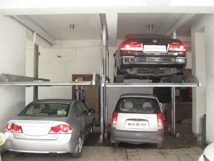 Hitech Rotary Parking System