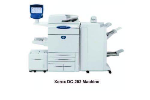 Xerox Multicolored Copier Machine
