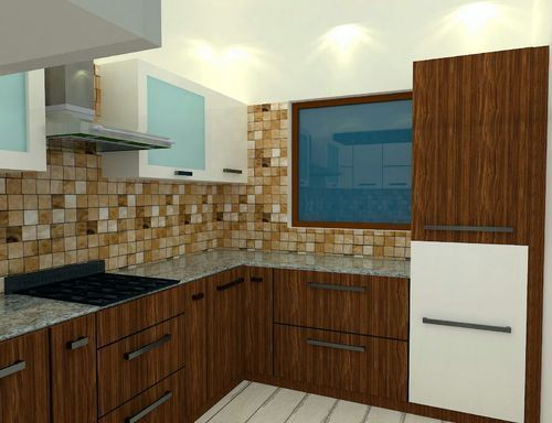 Attractive Modern Modular Kitchen Furniture In New Area