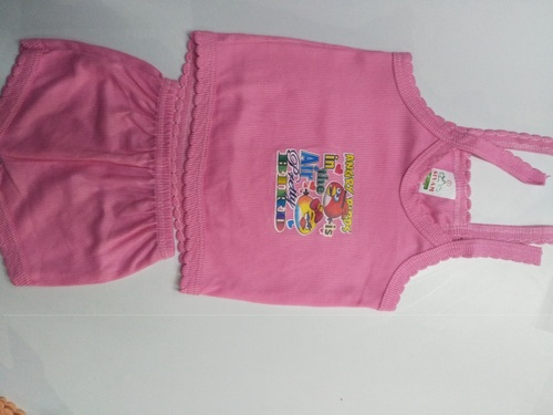 Printed Pink Baba Suits