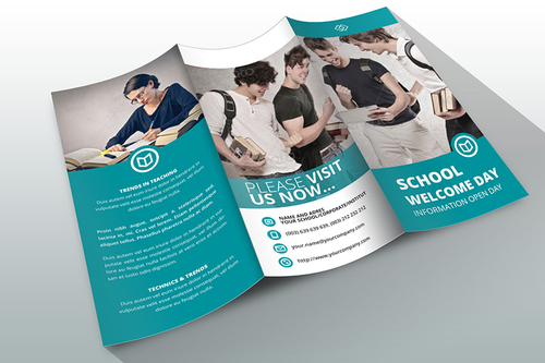 Education Tri-Fold Brochures Designing Services
